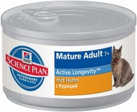 Hill`s Canned Feline Mature Adult 7+ / Консервы для пожилых кошек / 82 г