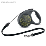 Рулетка Triol Flexi Fun Neon трос, S, 5 м до 12 кг
