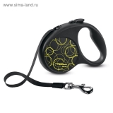 Рулетка Triol Flexi Fun Neon лента, S, 5 м до 15 кг