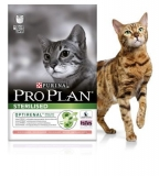 PRO PLAN STERILISED CAT С ЛОСОСЕМ / 1,5 кг